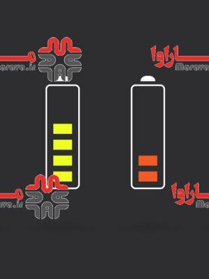 وکتور آیکون شارژ باتری